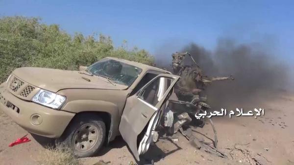 انكسار زحف تحت غطاء جوي شمال غرب اليمن