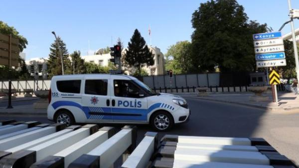 إطلاق نار على السفارة الأمريكية في أنقرة