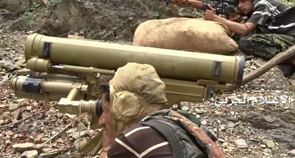 قصف تجمع للجنود والآليات السعودية في جيزان