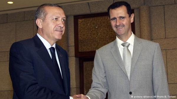 صحيفة سعودية: مفاوضات سرية بين أردوغان والأسد بوساطة إيرانية