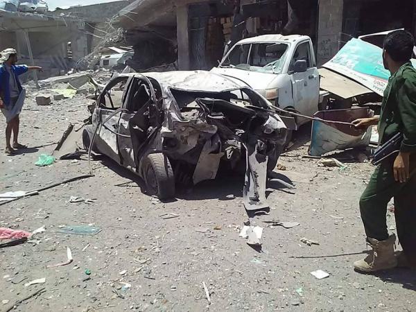 شهداء وجرحى بينهم نساء وأطفال بغارات سعودية في صنعاء