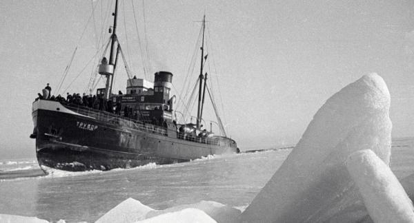 العثور على سفينة غرقت في القطب الشمالي عام 1881