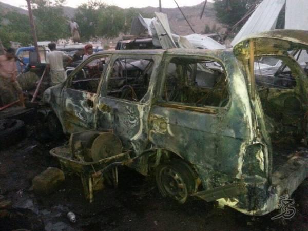قصف جوي استهدف وحدة صحية ومدرسة تأويان لاجئين.. وسقوط قتلى في مواجهات الجفينة بمأرب