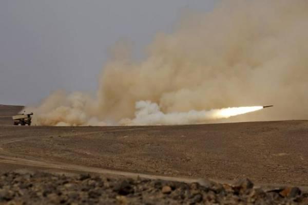 قصف جوي وصاروخي على مناطق الشريط الحدودي شمال اليمن