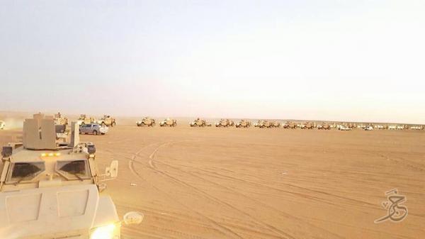 """السعودية تدفع بتعزيزات """"ضخمة"""" إلى مأرب"""