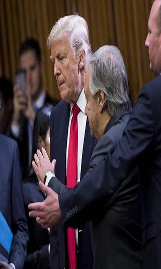 ترامب يندد بـ&#34الدول المارقة&#34 ويفاخر بجيشه من على منبر الامم المتحدة