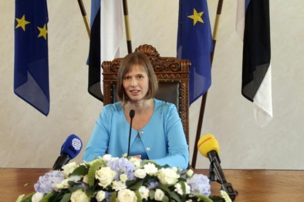 انتخاب امراة لاول مرة رئيسة لاستونيا
