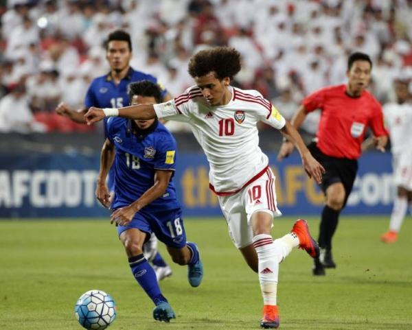 تصفيات مونديال 2018: مبخوت وخليل يعيدان الامارات الى نغمة الفوز