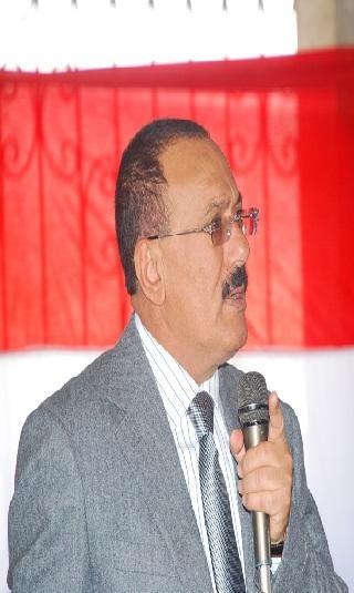 الزعيم صالح يحضر جانبا من اللقاء التنظيمي لقيادة مؤتمر صنعاء
