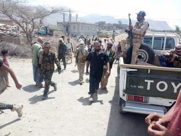 """تحرير مدينة """"الفاخر"""" من مليشيا الحوثي"""