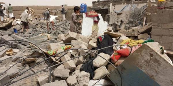 6 شهداء وجرحى في غارة ونيران سعودية على صعدة
