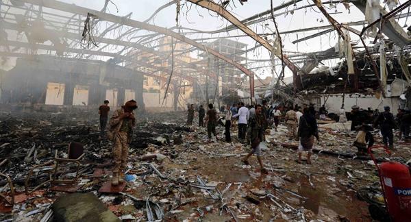 سوريا والعراق وأحزاب فلسطينية تدين مذبحة صالة العزاء في صنعاء