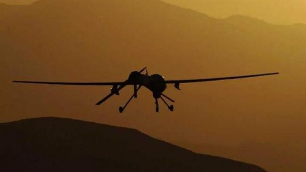"""""""بدون طيار"""" تقصف مجاميع مرتزقة السعودية في صرواح مأرب"""