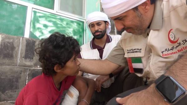 &#34الهلال&#34 يسلم مستشفى المخا شحنة مكملات غذائية لأطفال الساحل الغربي
