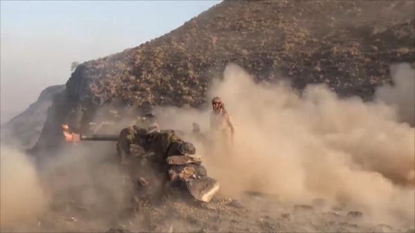 هجومان على مواقع المرتزقة بتعز