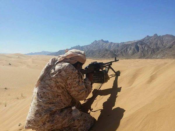 الجيش اليمني يطهر 9 مواقع بشبوة