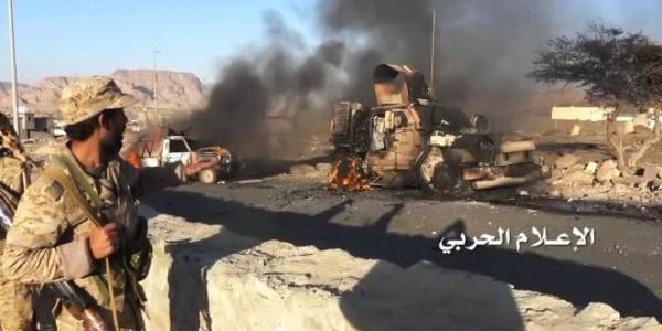 الجيش اليمني يوسع عملياته فيما بعد الحدود: &#34قنص.. صد تسللات ودك مواقع&#34