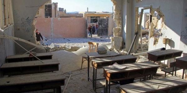 الأمم المتحدة تدعو إلى إجراء تحقيق فوري في الهجوم على مدرسة بإدلب