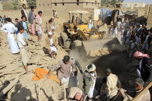 ارتفاع ضحايا مجزرة صعدة إلى 57 شهيداً وجريحاً