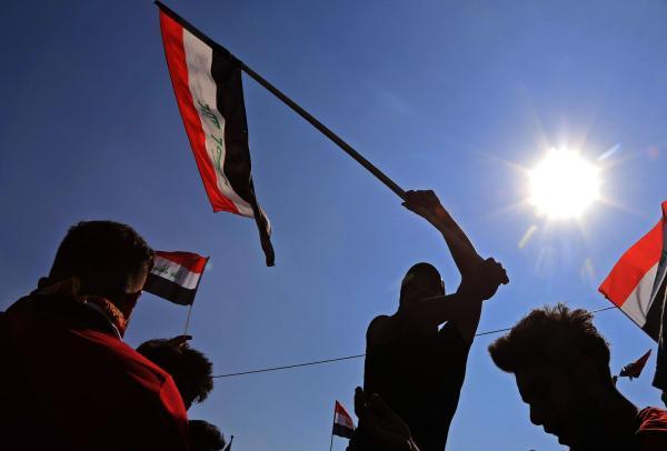 ليلة ناقمة على إيران في ساحات العراق