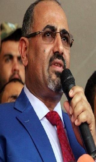 حصري- الزبيدي يدعو مكونات الحراك للإطاحة بحكومة بن دغر