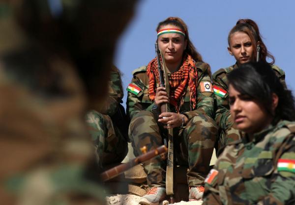 """في صور: الكرديات وتحرير الموصل من """"داعش"""""""