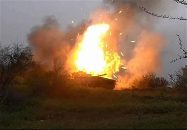 تدمير آلية سعودية في عسير يخلف خسائر