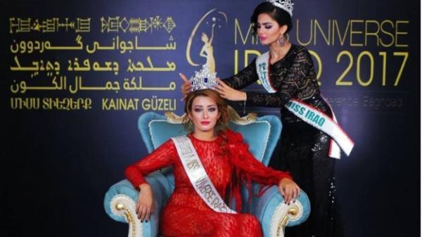 أول عراقية تشارك في مسابقة &#34ملكة جمال الكون&#34 منذ 40 عاما