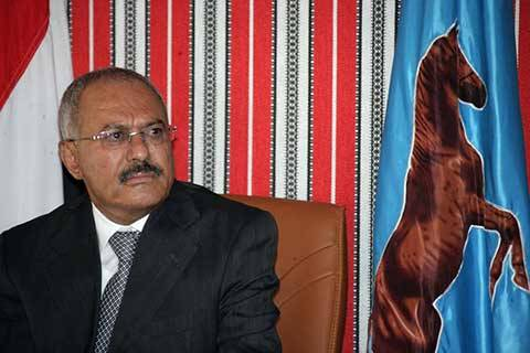 الرئيس صالح يعزي بوفاة السياسي المخضرم الدكتور الإرياني