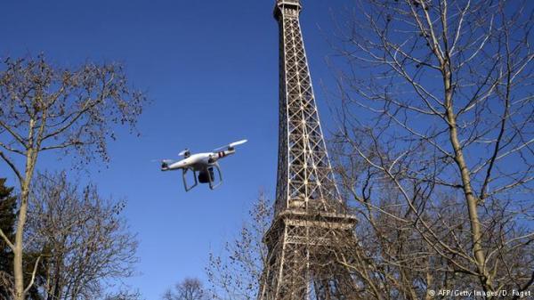 فرنسا.. تدريب نسور على إسقاط طائرات بدون طيار