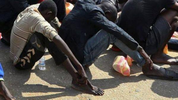 صورة &#34بيع العبيد&#34 في سوق في ليبيا تثير غضب الاتحاد الافريقي