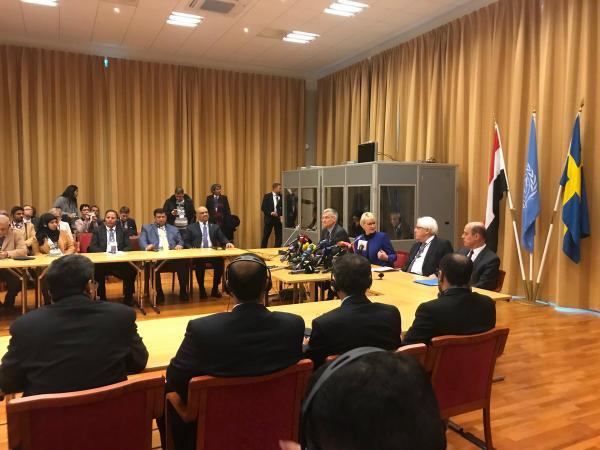 إعلام أمريكي: الحوثيون سيرفضون الانسحاب من الأراضي وتسليم أسلحتهم.. ومفاوضات السويد لن تحرز أي تقدم