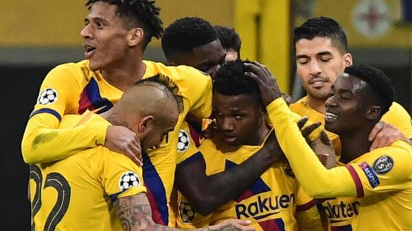 أبطال أوروبا: برشلونة يهدي دورتموند بطاقة العبور على حساب إنتر