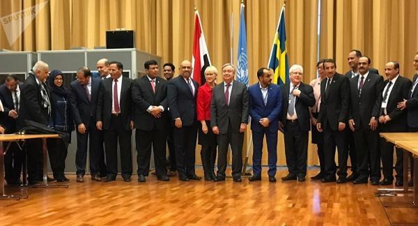 اليمن تطالب الامم المتحدة بإلزام مليشيا الحوثي تنفيذ ماتم الاتفاق عليه في السويد